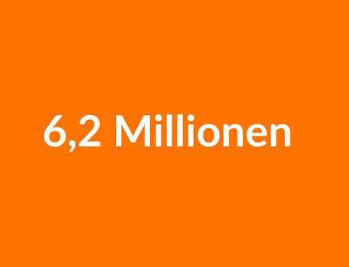 Noch 6,2 Millionen – Ein Kommentar des BVAG