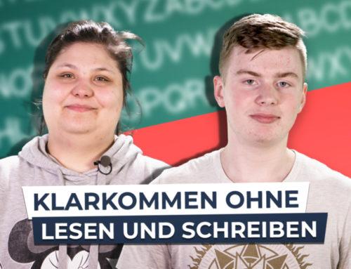 Lernende sprechen mit Deutschland3000 über ihren Weg zur Schrift