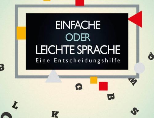 """Spaß am Lesen Verlag schenkt Ihnen den Ratgeber """"Einfache Sprache oder Leichte Sprache. Eine Entscheidungshilfe"""""""