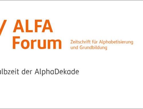 ALFA-Forum – Halbzeit der AlphaDekade
