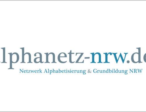Förderung von Aktionen zum Weltalphatag 2021 über das Alphanetz NRW
