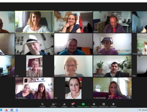 Zweites virtuelles Lernendentreffen mit dem ALFA-Mobil