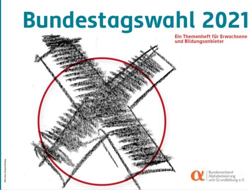 Neues Themenheft zur Bundestagswahl 2021